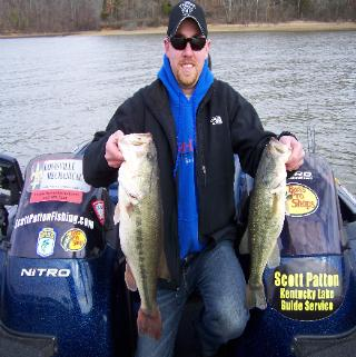 Kentucky lake guide scott patton fishing kentcky lake for Kentucky lake fishing guides
